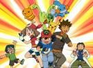 Pokemon - Brock, Ash, May, Max, Pikachu